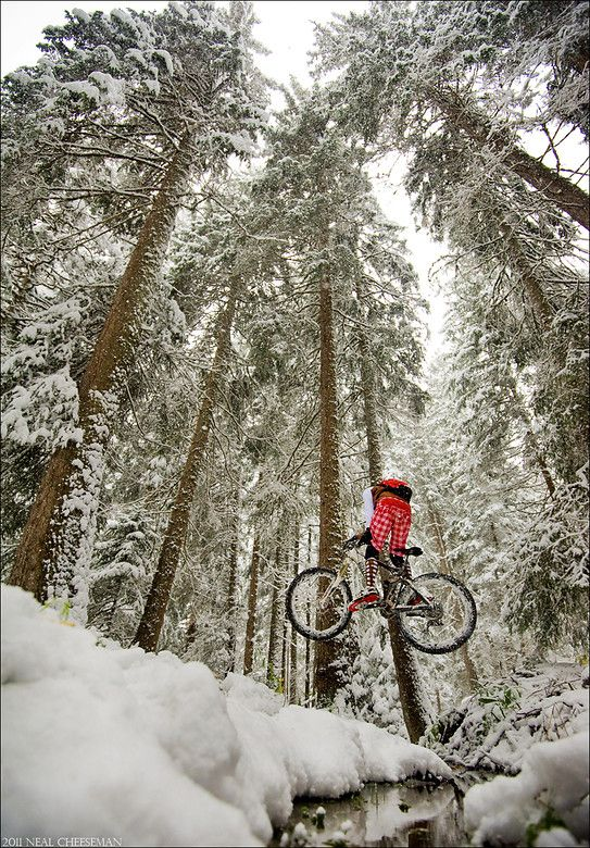 ♂ Adventure Snow Mountain Biking Pictures - Vital MTB