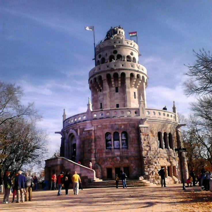 Erzsébet-kilátó, Belvedere Tower in the Buda Hills