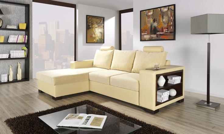 MESSINA Corner Sofa Bed