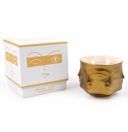 Jonathan Adler Muse Candle - scent development, packaging