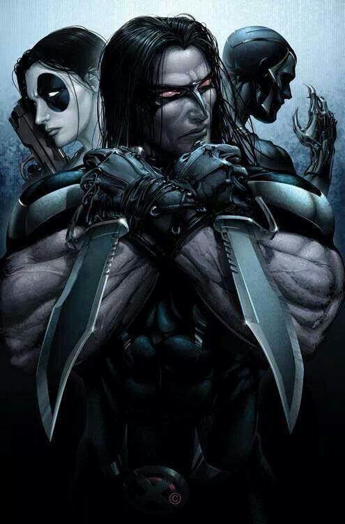 Warpath, Domino, and Archangel