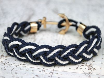 i want this sooo bad: James Of Arci, Anchors Bracelets, Yachts Club, James Patrick'S, Nautical Bracelet, Ropes Bracelets, Braids Bracelets, Anchor Bracelets, Friendship Bracelets
