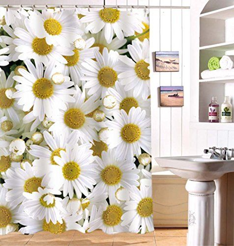 Jibin Bong 3D Printed Bath Curtain Daisy Shower Curtain- ... https://www.amazon.ca/dp/B01E8S5GBW/ref=cm_sw_r_pi_dp_x_RfDdAbK3N1PMK