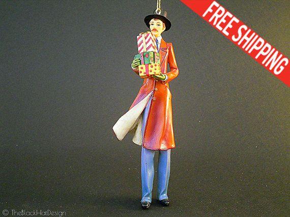 Charles Dickens Christmas Carol Figurine by TheBlackHatDesign