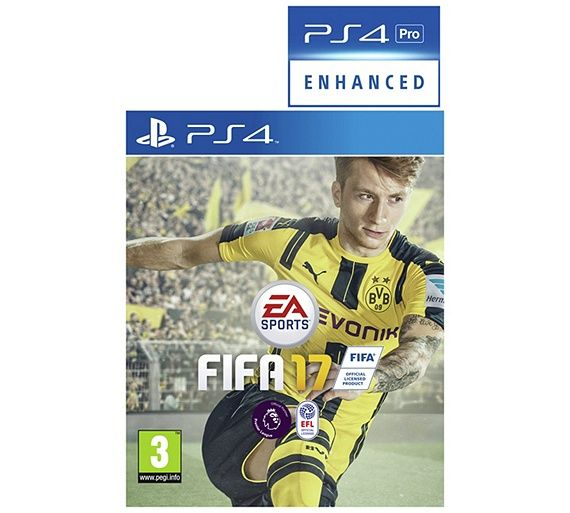 Buy FIFA 17 PS4 Game at Argos.co.uk, visit Argos.co.uk to shop online for PS4 games, PS4, Video games and consoles, Technology