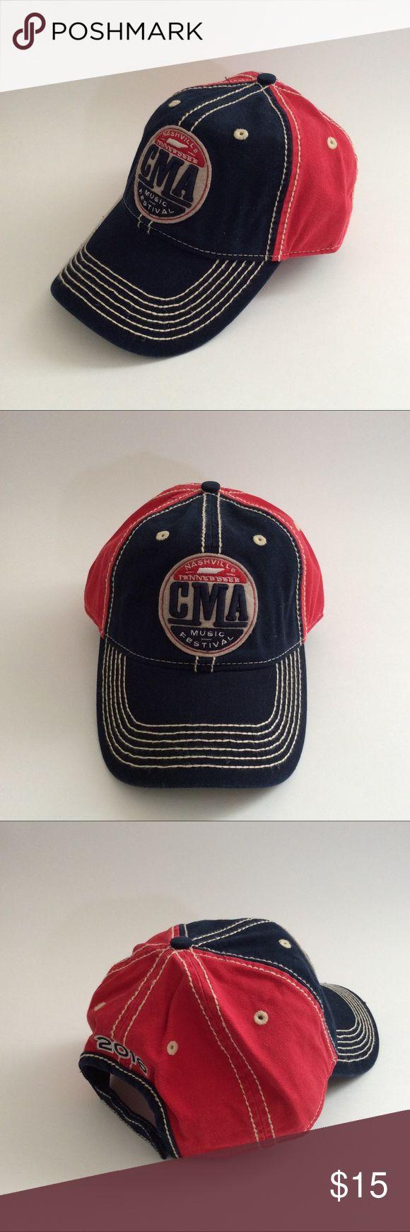 2016 CMA Music Festival Cap Hat 2016 CMA Nashville Music Festival Ball Cap/Hat. New. Never worn. Materials: 100% Cotton ~❌SWAP❌TRADE ~ ✔️❤️Bundles📦💕 ~✔️Smoke-free/pet-free home CMA Accessories Hats