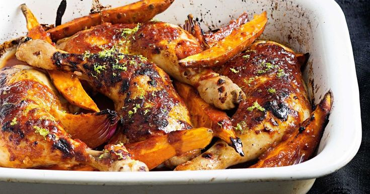 A sweet and sticky chicken dish that the whole family will relish.