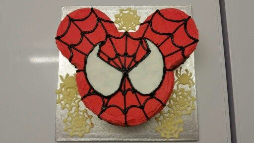 Spider-mickey!  This is a great birthday cake for the youngsters!! Made at Taylor's
