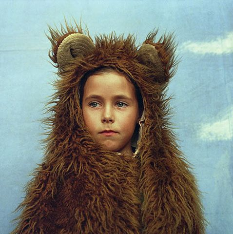 I'd do anything for a bear suit like this...
