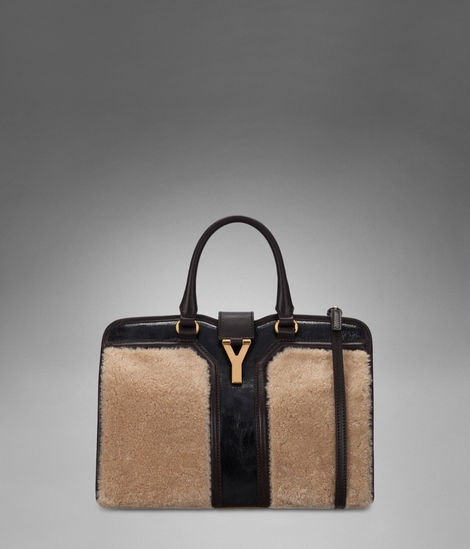 ysl wool handbag