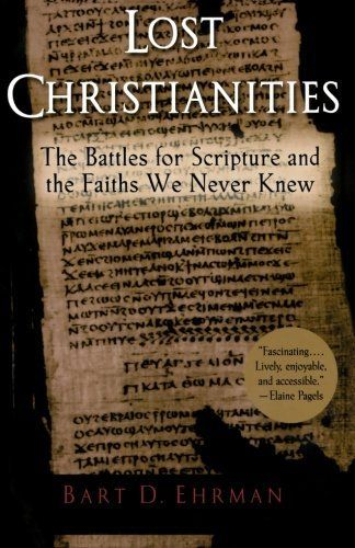 Lost Christianities: The Battles for Scripture and the Faiths We Never Knew by Bart D. Ehrman, http://www.amazon.co.uk/dp/0195182499/ref=cm_sw_r_pi_dp_wOsCrb0526N41