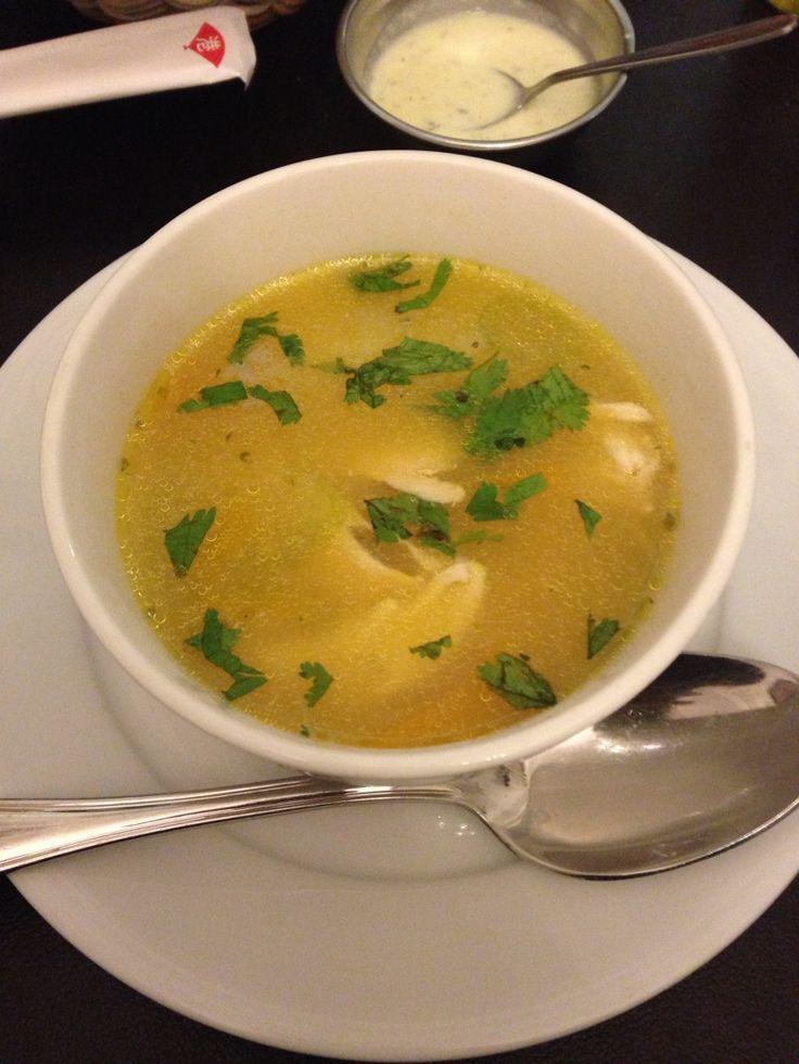 Peruvian Soup - Restaurant Estrella Marina