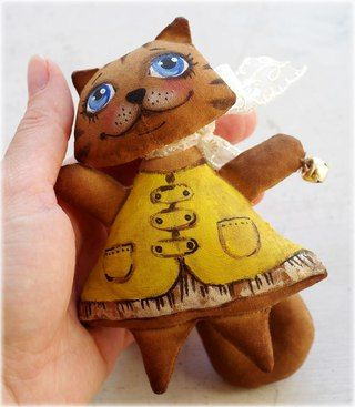 Кофейные сказки. Ароматные игрушки из ткани.   ВКонтакте