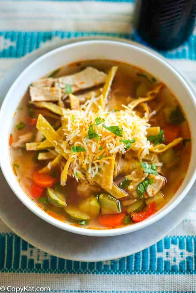 El Torito S Chicken Tortilla Soup Recipe In 2020 Tortilla Soup Chicken Tortilla Soup Chicken Tortilla