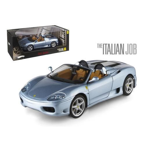 "Ferrari 360 Modena Spider ""The Italian Job"" Movie Elite Edition 1/18 Diecast Model Car by Hotwheels"