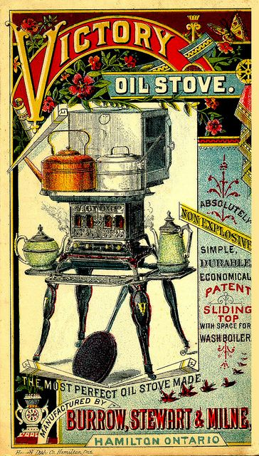 Non-Explosive Victory Oil Stove, about 1899 by JFGryphon,