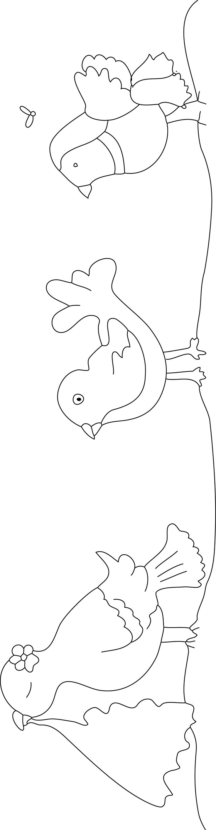 Let's color Pica, Cucut and Pardal!!! Download it and color it!