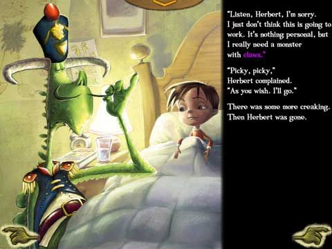 I Need My Monster - If your child is scared of monsters creaking  under their bed, this book app can be the remedy that will put a smile on their face and drive away their fears.