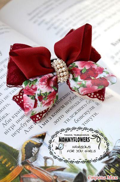 Это УЖЕ снова ШКОЛА УЖЕ??!! :)) - Бантики для девочек - Страна Мам