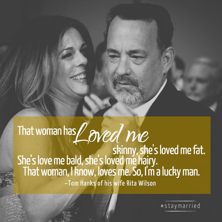 Tom Hanks and Rita Wilson - #staymarried