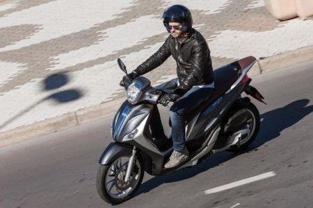 Piaggio Medley 125 ABS, rueda alta y motor Euro4