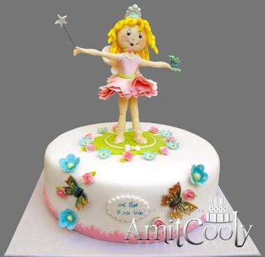 הפיה לילי: Fairy Cakes, Tale Cakes, Decor Ideas, Cakes Cakes, Bday Cakes, Girly Cakes, Angry Birds, Cake Decorating, Birthday Cakes