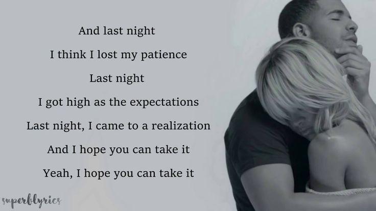 From time lyrics az drake