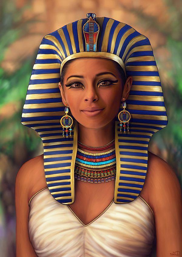 Древний египет женщина картинки