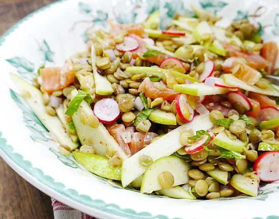 Salată de LINTE și RIDICHI | La Taifas