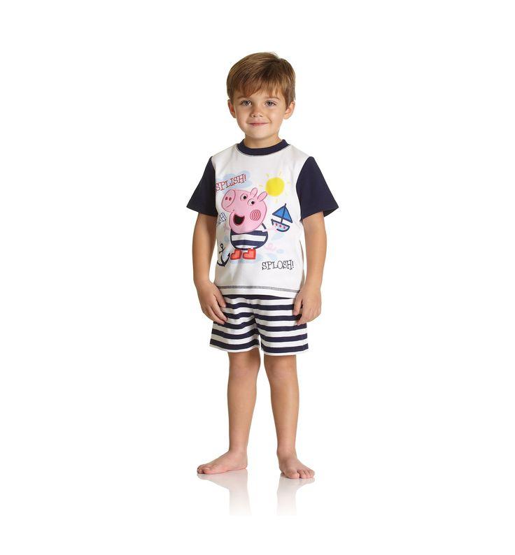 Peppa pig shortie pyjamas peppa pig peppa