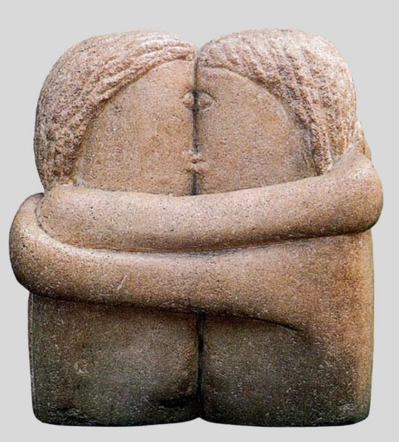 Brancusi  The Kiss.Brancusi, Constantin (1876-1957) - 1916 The Kiss (The Philadelphia Museum of Art, USA) by RasMarley on Flickr