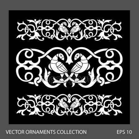 Славянский орнамент вектор Стоковые фото, иллюстрации и векторные изображения | Depositphotos®