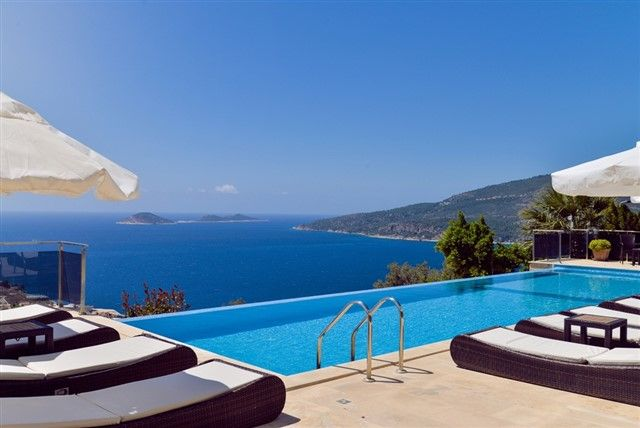 View of the Mediterranean from Kalkan, Turkey