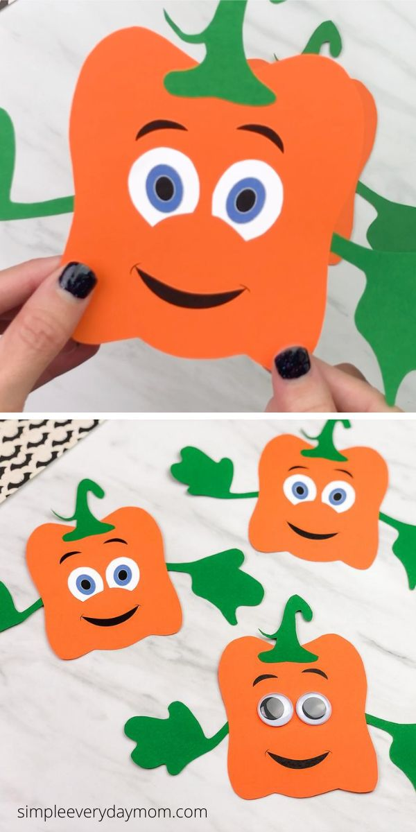 Easy Spookley The Square Pumpkin Craft For Kids Animal Crafts For Kids Halloween Craft Activities Quick Halloween Crafts