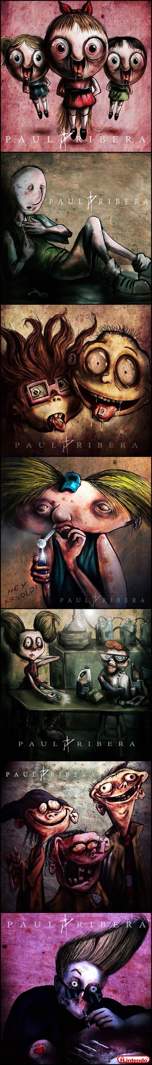 Imagens De Cartoons Usando Drogas