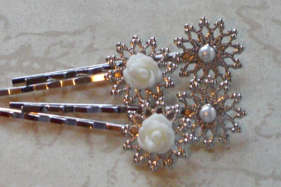 White Hair Pins @stacey kuramoto