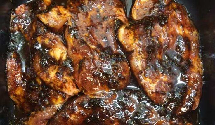 Grillmarinad med vitlök & honung - Recept