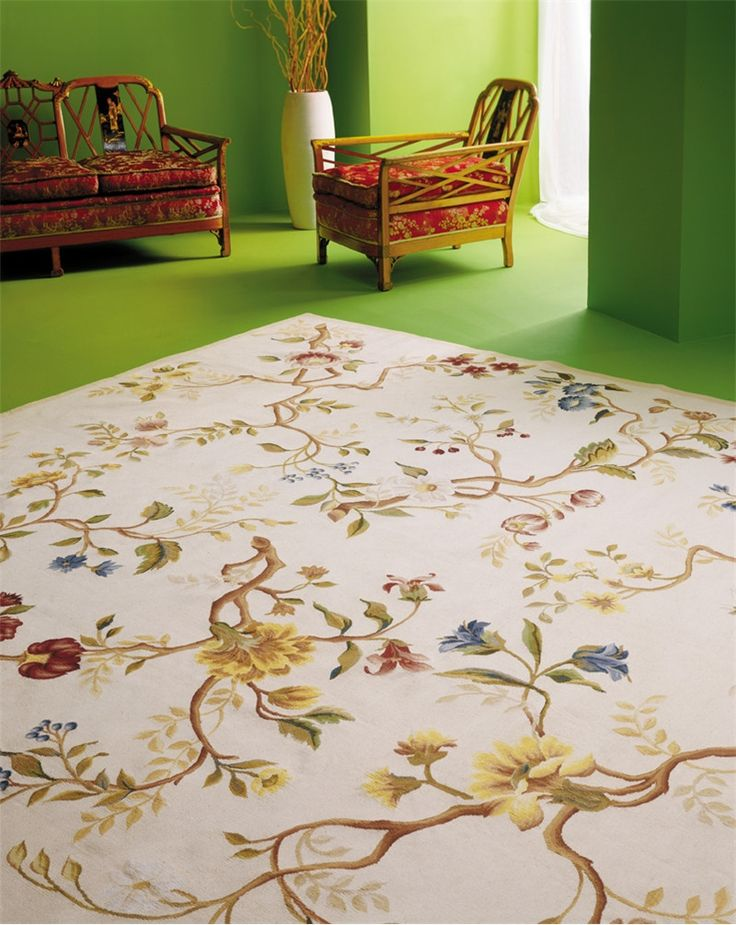 branches aubusson rug - Aubusson Rugs