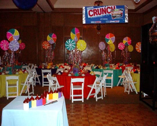 17 best images about prom ideas on pinterest - Candyland party table decorations ...