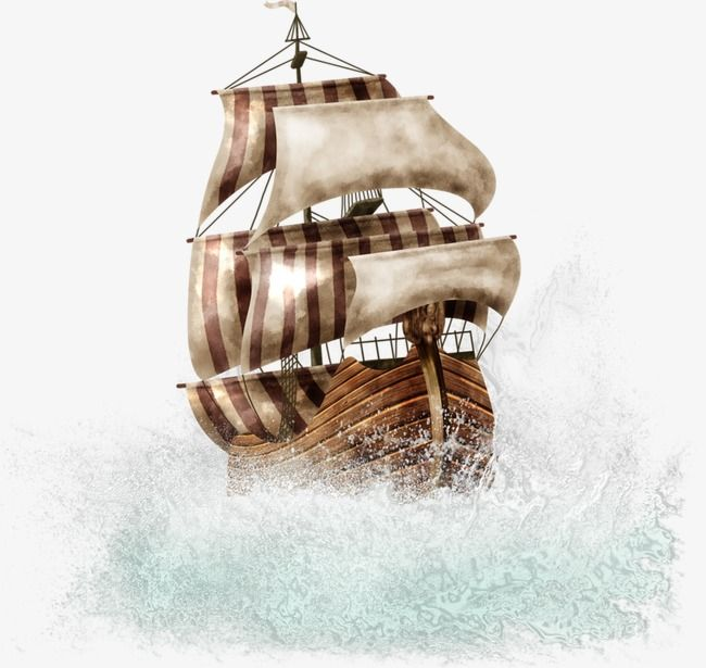 Pirate Ship Pirates Boat Vector Ghost Ship