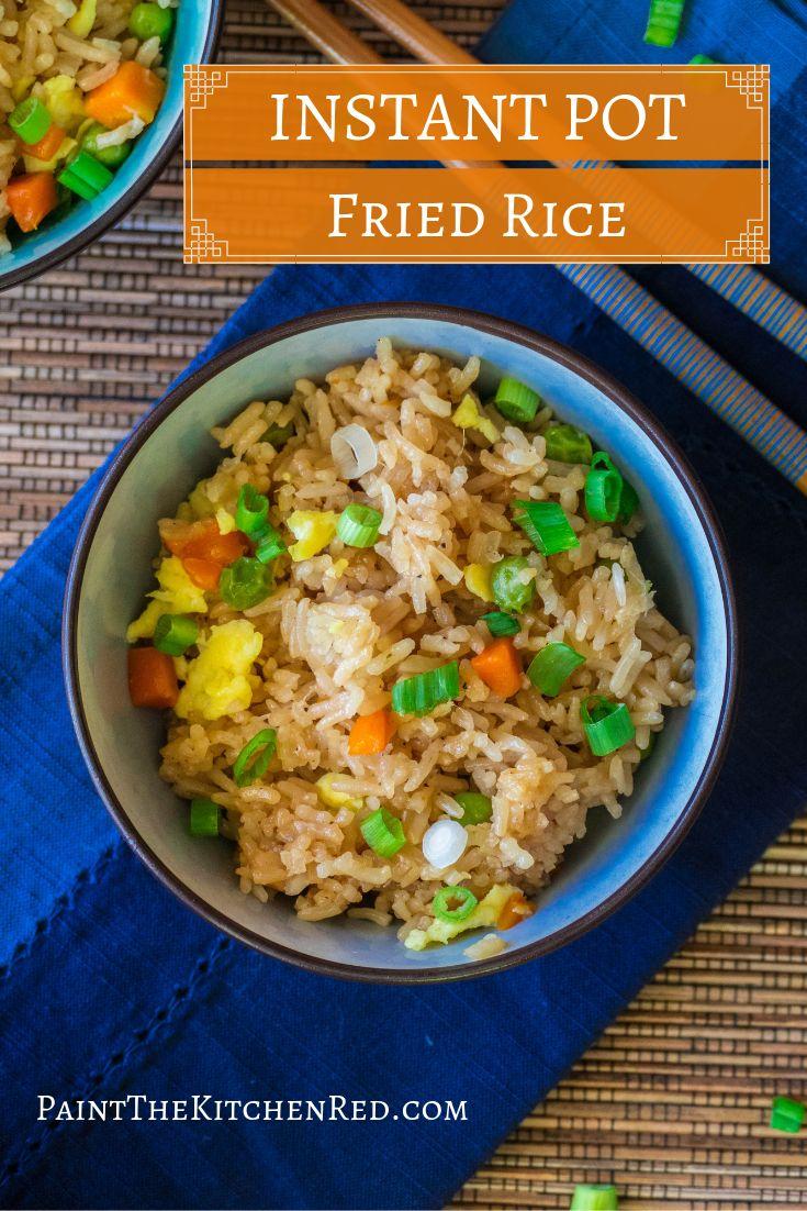Instant Pot Fried Rice ist einfach und lecker!