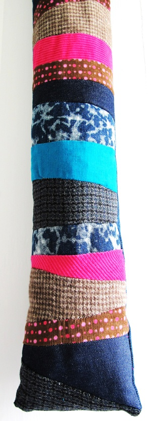 Funky Country Draft Excluder  £35  Ideal for those chilly winter nights!