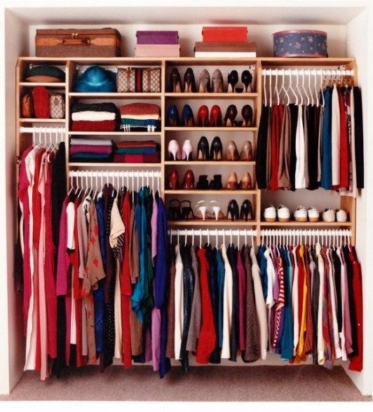Wardrobe Designs: To Store More