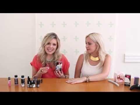 Red Carpet Manicure Chevron Gel Nail Art Tutorial - YouTube
