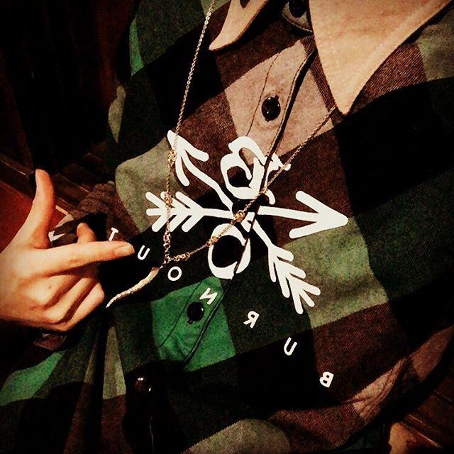 gekka0709緑のチェックシャツを手に入れた。 #burnout #TAKUYA∞#UVERworld#今日のコーデ