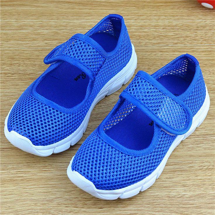 Enfants chaussures respirant mailles chaussures pour enfants en bas âge Garçons Filles Creusé Out sport Espadrilles de mode de chaussures de l'école enfants formateurs 26-36