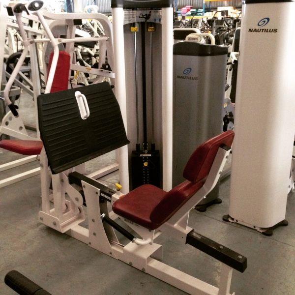 Nautilus Steel Leg Press Item 2343 Www Graysfitness Com Au Gymequipment Graysfitness Fitness Gym Equipment Leg Press Steel Legs