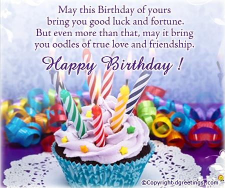 Dgreetings - Happy Birthday General Card