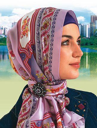 Mooi manier van hoofddoek stijlen :)