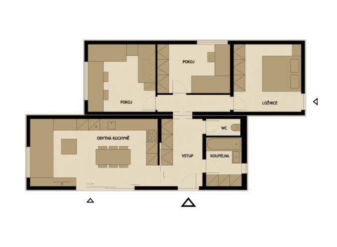 3 modelos de planos de casas pequeñas de madera | Construye Hogar